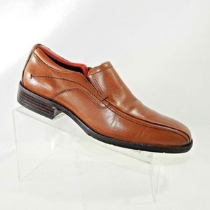 Johnston Murphy Size 9 Brown Loafer Mens Shoes
